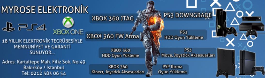 Xbox 360 kırdırma, ps3 çip taktırma işlemleri platforumunuz